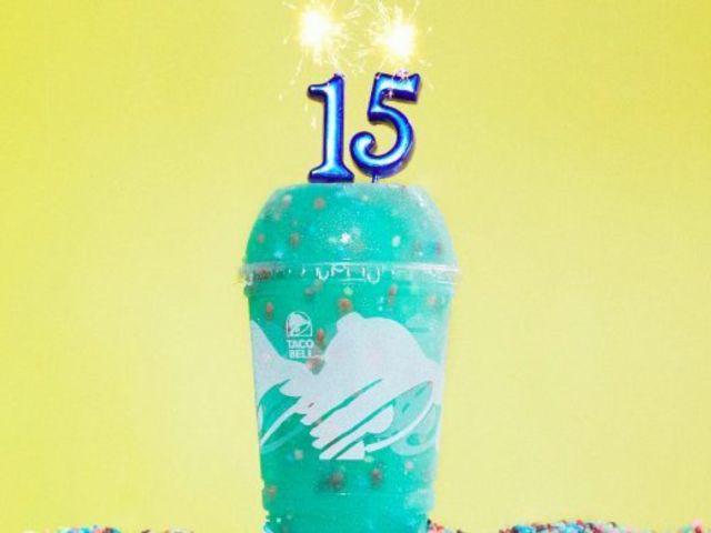 Taco Bell Celebrates 15th Birthday With New Twist on Baja Blast Freeze