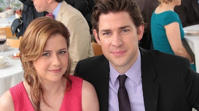 the office jim pam nbc getty images