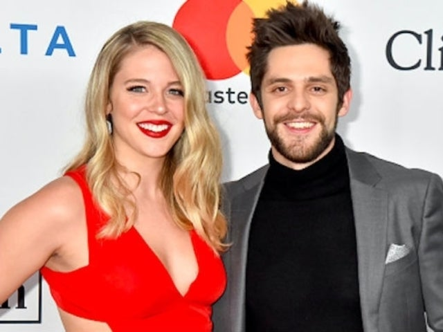 Thomas Rhett's Wife Lauren Akins Shares Family Selfie at Christmas Candlelight Service
