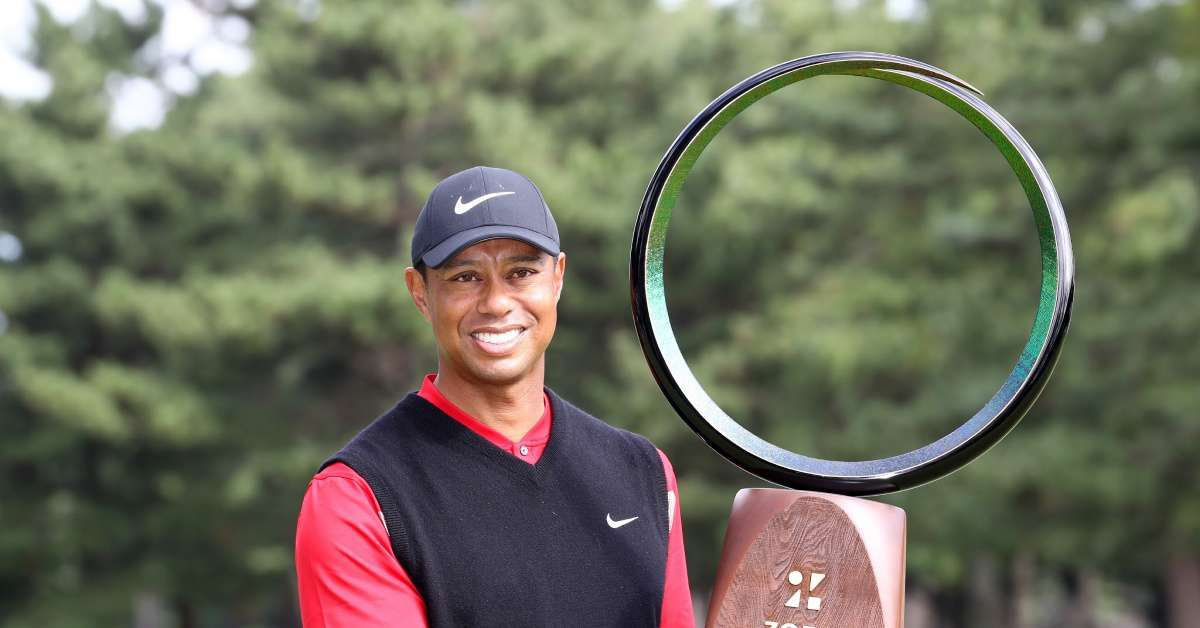 Tiger Woods wins 82 PGA Tour title all-time record