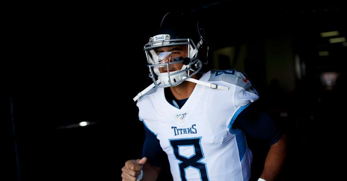 Titans bench Marcus Mariota Ryan Tanehill start chargers