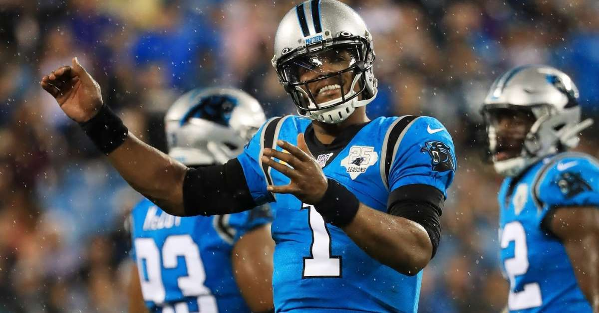 Will Carolina Panthers play Cam Newton Sunday