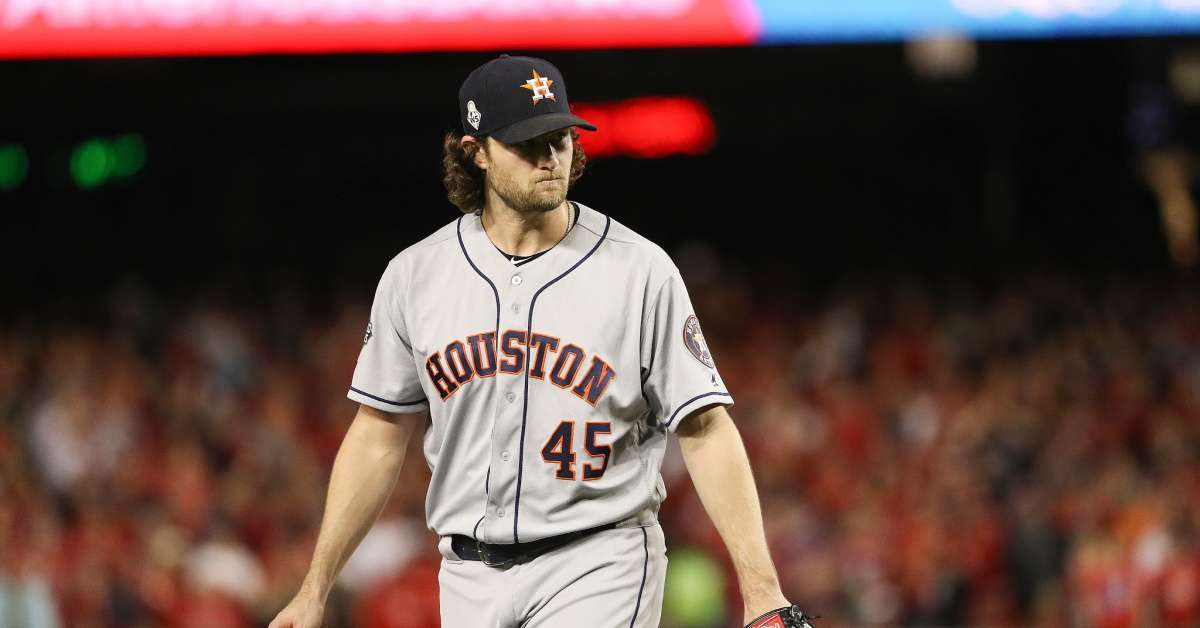 World Series Flasher Julia Rose Blocked on Twitter by Houston Astros Star Pitcher Gerrit Cole
