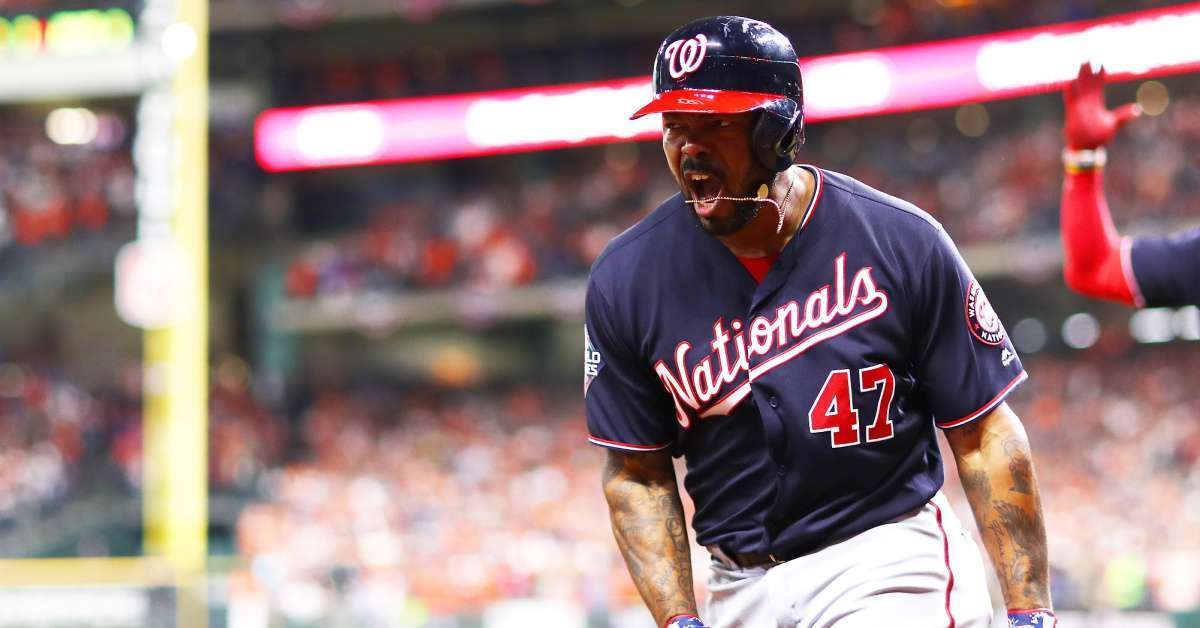 World Series Washington Nationals win Game 7 over Houston Astros