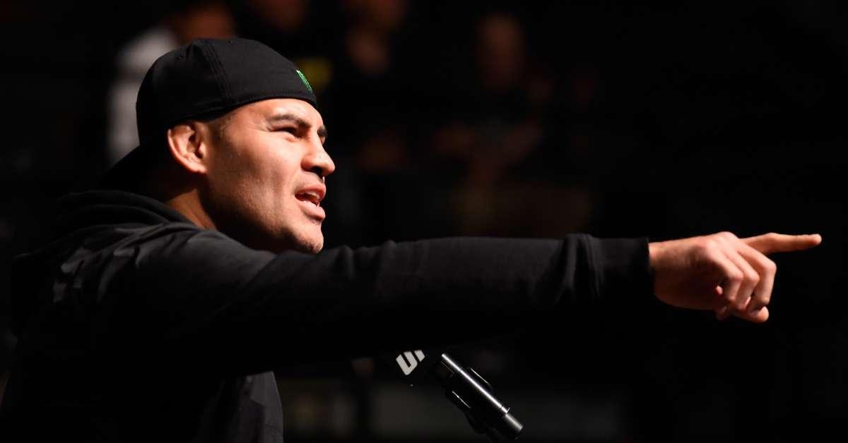 WWE announcement Cain Velazquez Tyson Fury