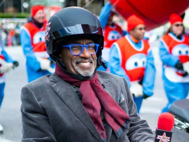 Al Roker's Glasses Become Talk of Social Media During Macy's Thanksgiving Day Parade