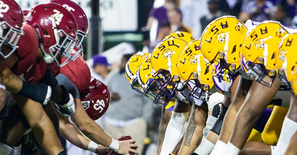 Alabama Football Fans Demand LSU Game's Time Be Pushed to Primetime