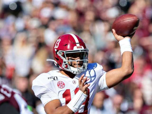 Alabama QB Tua Tagovailoa to Have Hip Surgery in Houston Monday