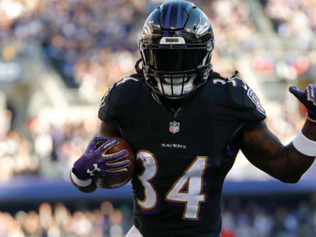 New Police Footage From Former Ravens RB Alex Collins' Arrest Shows Large 'Jug of Weed'