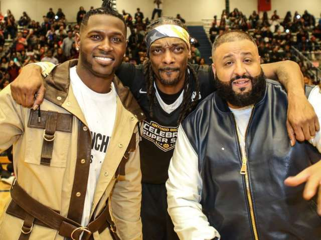 Antonio Brown and DJ Khaled 'Bless up' While Hanging Together in Latest Instagram Video