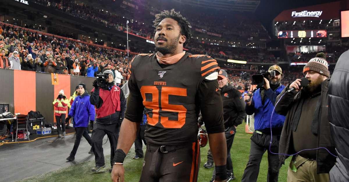 Browns DE Myles Garrett Breaks Silence After Heated Steelers Brawl_ 'I Made a Mistake'