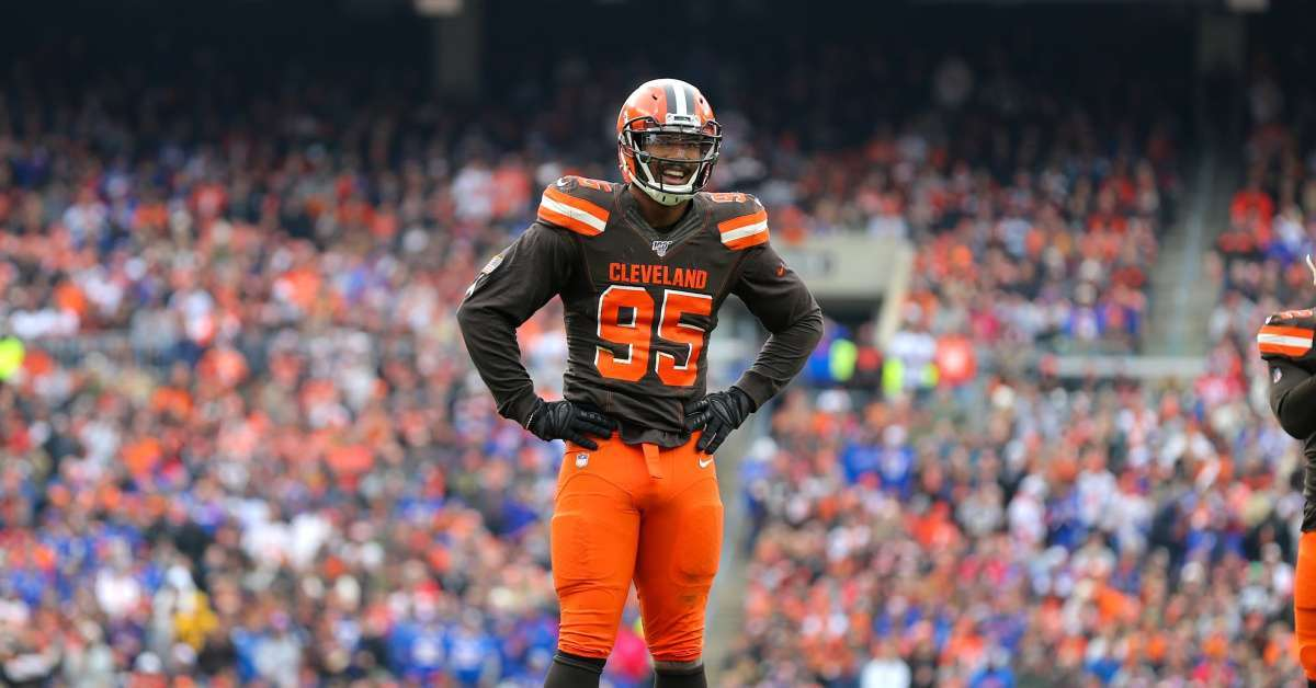Browns DE Myles Garrett Releases Statement After Being Handed Down Suspension for Role in Steelers Brawl