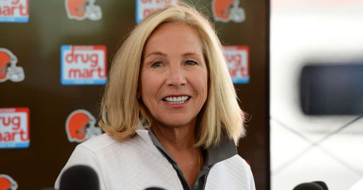 Browns Owner Dee Haslam Show Support for Myles Garrett with No 95 Hat