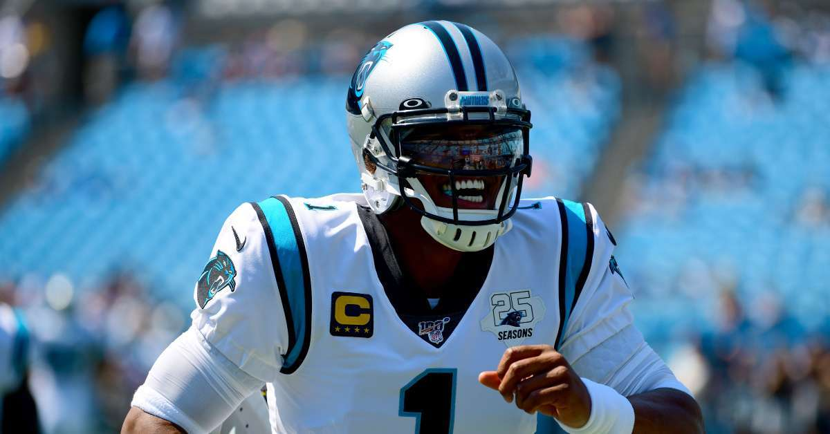 Cam Newton Sends Message to Carolina Panthers Fans After Being Placed on Injured Reserve