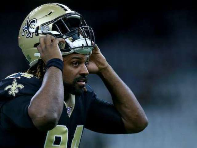 Watch: Saints' Cam Jordan Throws a Mean Elbow at Panthers' Kyle Allen