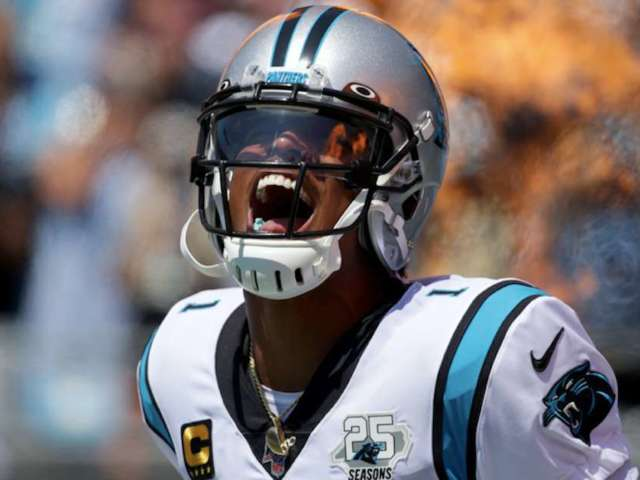 Skip Bayless Calls Cam Newton's Message to Panthers a 'Dare' to Let Him Go
