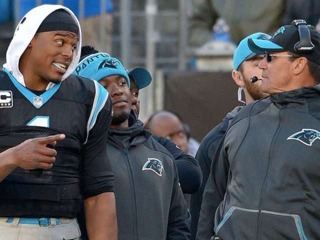 Panthers Coach Ron Rivera Shuts Down Questions About Cam Newton Return