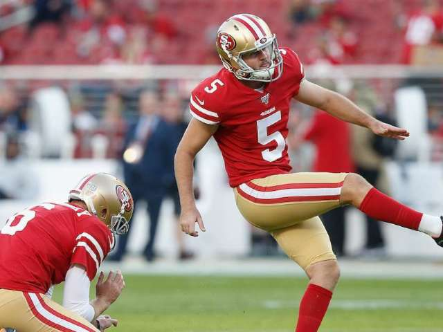 49ers Kicker Chase McLaughlin Shanks Potential Game-Winning Kick Into Tunnel