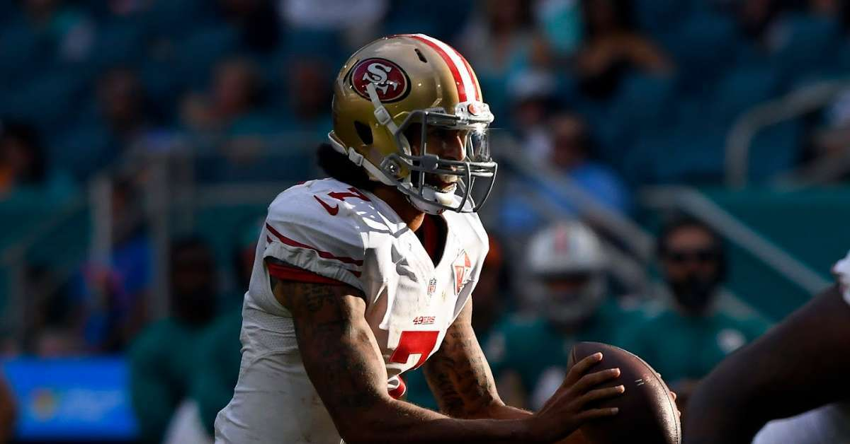 Colin Kaepernick Reportedly Won't Know Who Will Attend Private Workout Ahead of Time