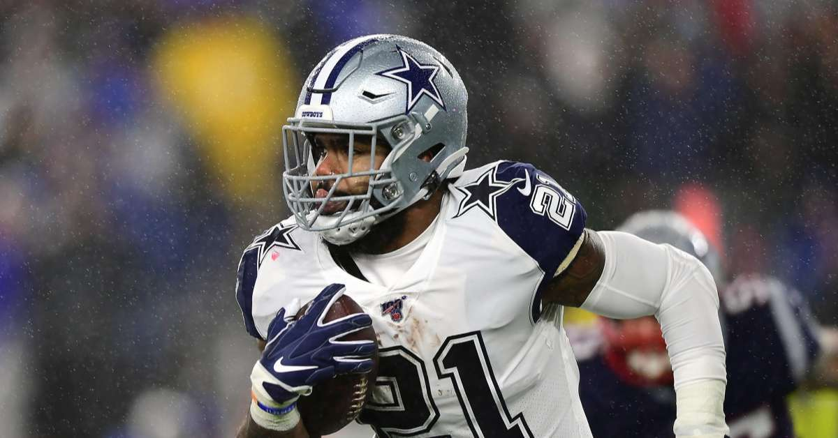 Cowboys RB Ezekiel Elliott Sends Thanksgiving Message to Fans on Instagram