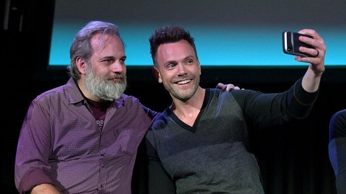 dan-harmon-joel-mchale-getty
