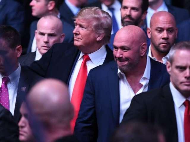 Dana White Reveals How He Got Donald Trump to Attend UFC 244
