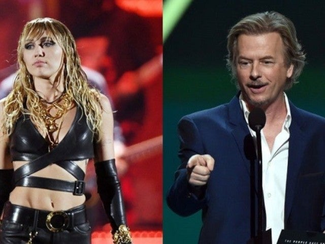 David Spade Shades Miley Cyrus Over Recent Relationship Switch-Ups