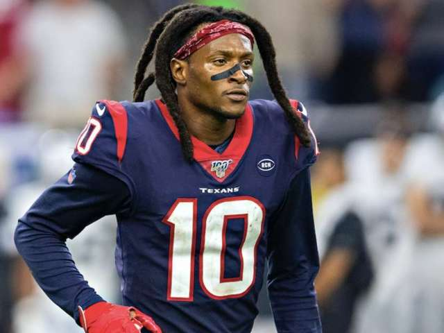 Texans WR DeAndre Hopkins Becomes Second-Youngest Player to Reach 600 Receptions