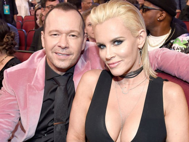 Donnie Wahlberg Posts Shirtless Photo of Him Kissing Wife Jenny McCarthy