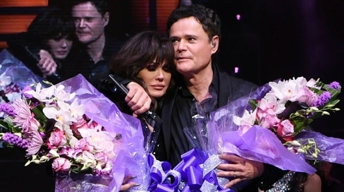 donny marie osmond final show getty images