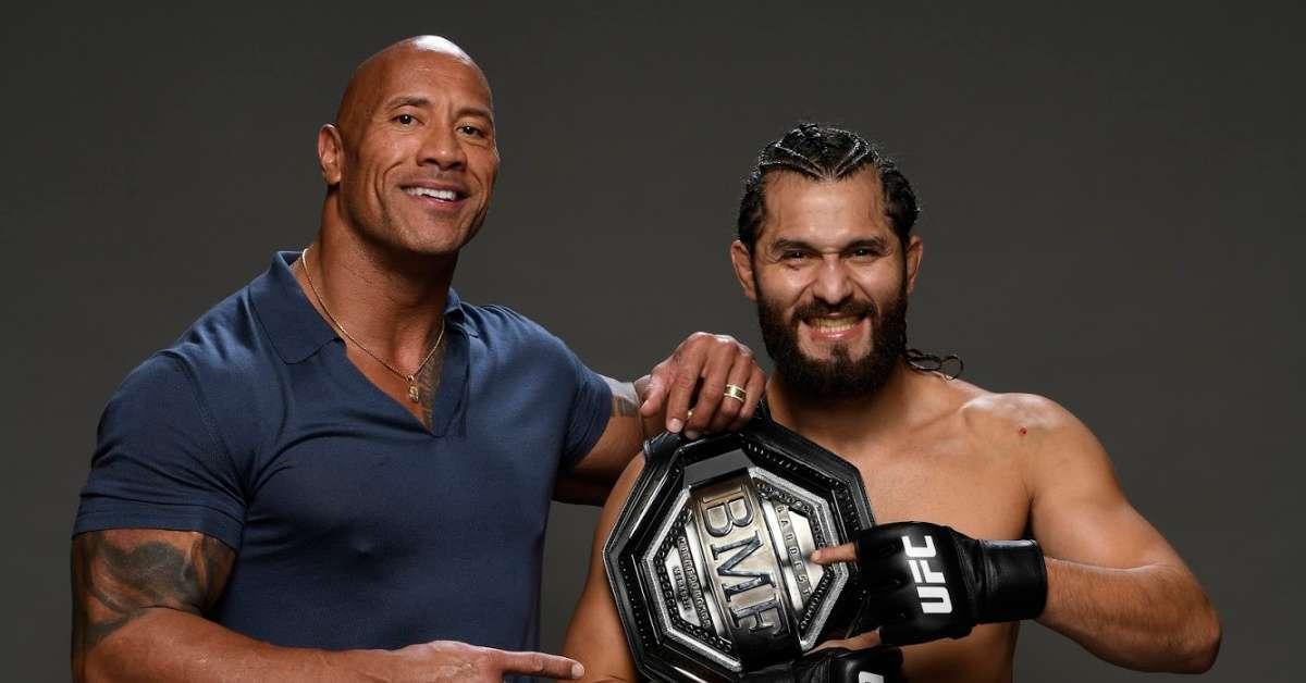Dwayne 'The Rock' Johnson Sends Message to Jorge Masvidal After Win at UFC 244