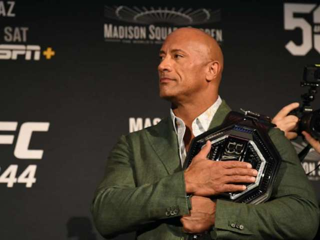 Dwayne 'The Rock' Johnson Hypes UFC 244's 'BMF Title' Main Event With Classic WWE Style