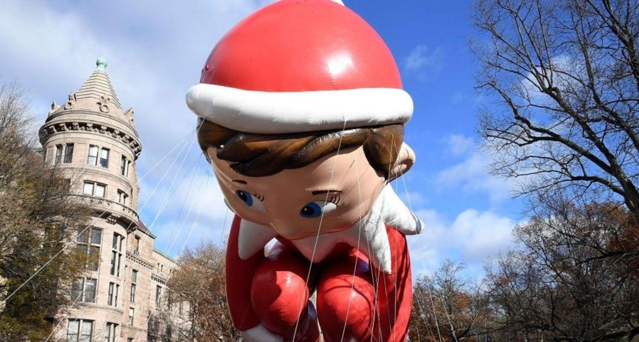 Macy S Thanksgiving Day Parade S Elf On The Shelf Balloon