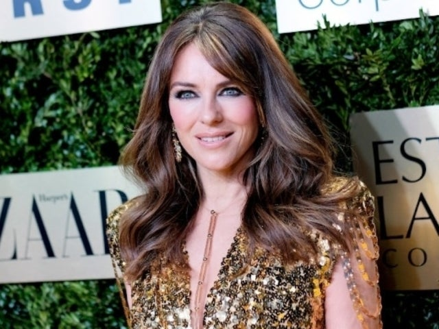 Elizabeth Hurley's Thanksgiving Photo Sets Comments Section on Fire