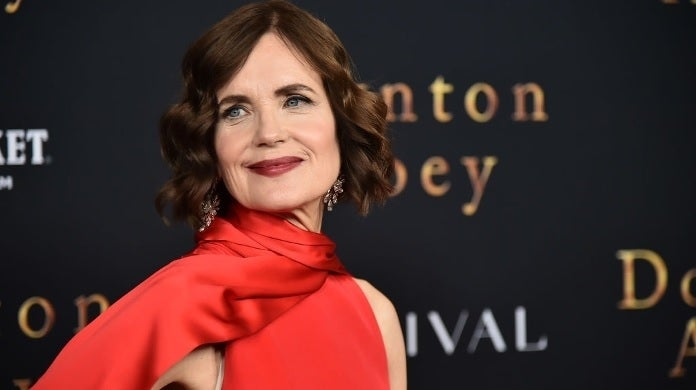 elizabeth mcgovern getty images