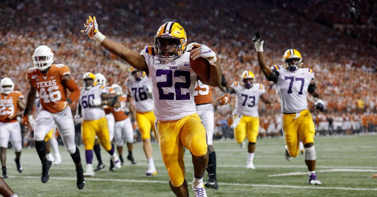 Emotional Moment for LSU's Clyde Edwards-Helaire Goes Viral, But Everyone Is Focused on This One Aspect