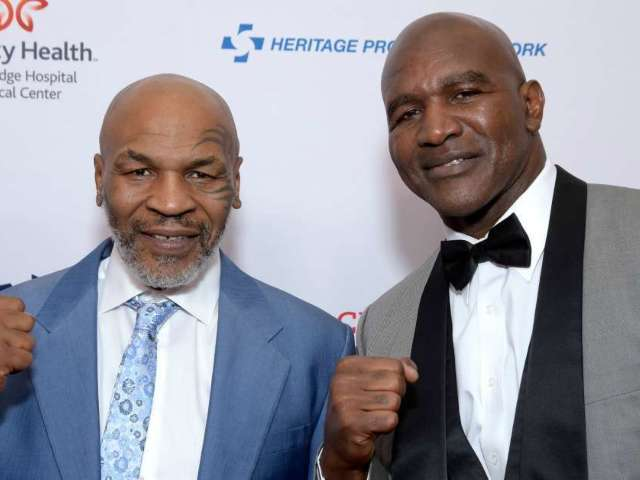 Evander Holyfield Admits to Mike Tyson 'I Bit Someone Too'