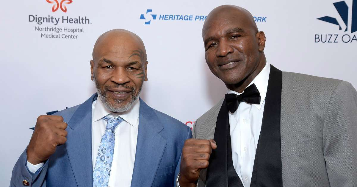 Evander Holyfield Forgives Mike Tyson for Bitting Him, Admits He 'Bit Someone Too'