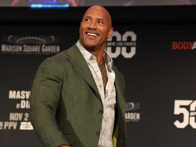 Dwayne 'The Rock' Johnson Reacts to Being Called out by Nate Diaz at UFC 244
