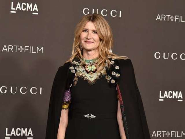 Laura Dern Makes Rare Red Carpet Appearance With Teenage Son and His Girlfriend