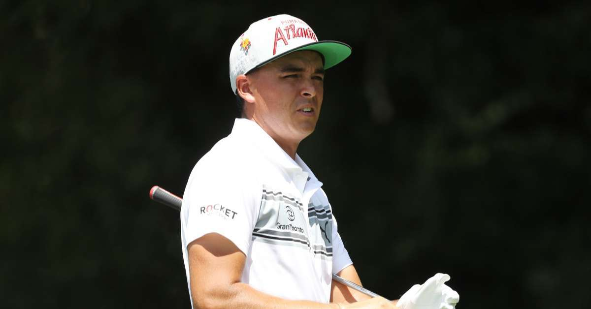 Golfer Rickie Fowler Struck With Bacterial Infection While on His Honeymoon