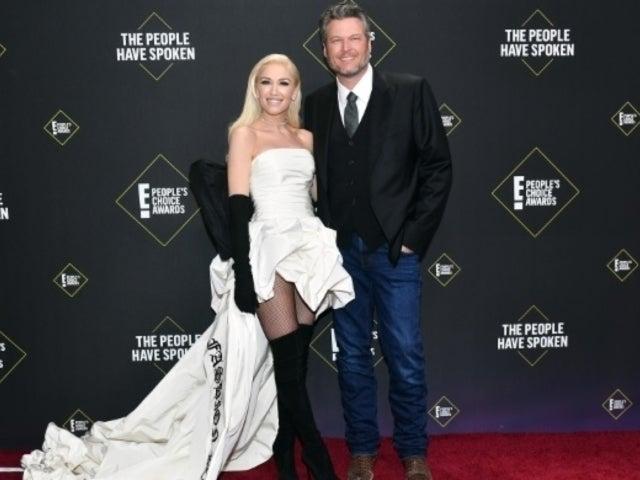 People's Choice Awards 2019: Gwen Stefani Walks Red Carpet With Blake Shelton, and Fans Are Gushing