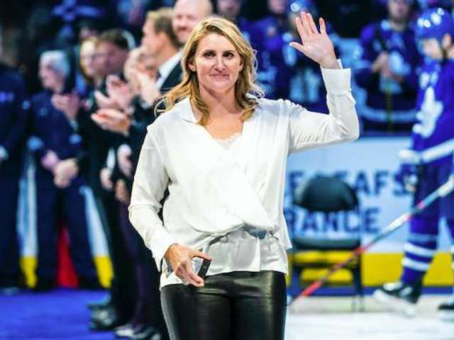 Hayley Wickenheiser Becomes Seventh Woman Inducted Into Hockey Hall of Fame