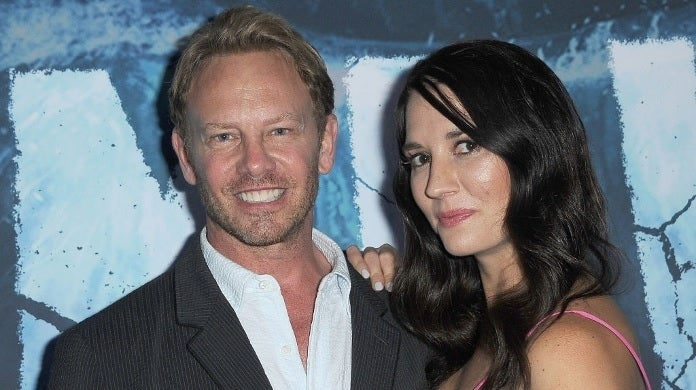 ian ziering erin ludwig getty images