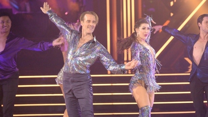 james van der beek dwts abc 2