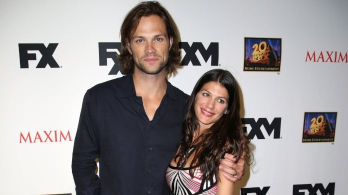 jared padalecki genevieve cortese getty images 2013
