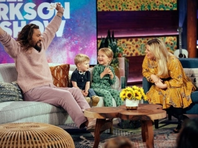 Jason Momoa Adorably Answers Kelly Clarkson's Kid's Questions About 'The Little Mermaid'