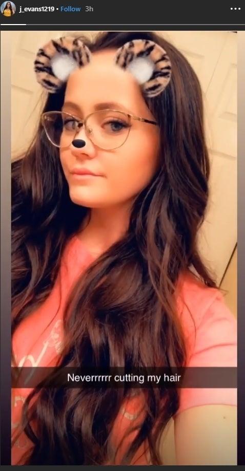 jenelle evans instagram long hair 11-28