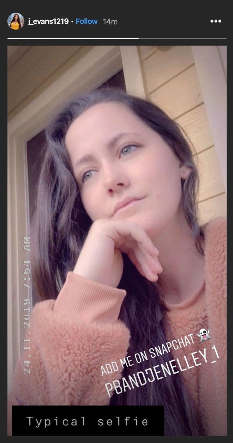 jenelle-evans-typical-selfie-snapchat
