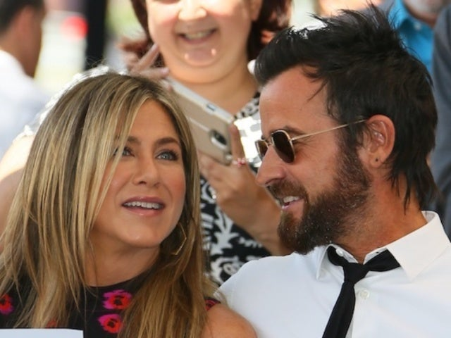 Jennifer Aniston Happily Enjoys 'Friendsgiving' With Ex Justin Theroux
